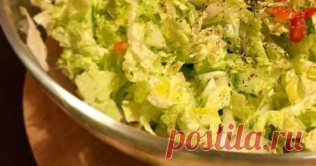 Салаты с пекинской капустой - 326 рецептов салаты с пекинской капустой - 326 шт. простых домашних рецептов с фото. Также мы нашли Салат из пекинской капусты 🥬!