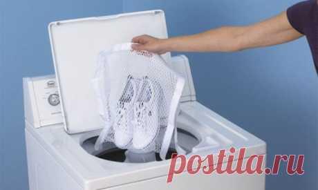 Как правильно стирать обувь в стиральной машине — Полезные советы