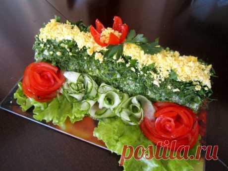 Кажется, пора придумывать салаты на Новый год. Как вам такая идейка для мимозы?  🍴Горбуша консервированная — 250 Грамм 🍴Картофель — 3 Штуки  🍴Морковь — 1 Штука  🍴Яйцо — 3 Штуки  🍴Лук зеленый — Пучок (небольшой)  🍴Майонез — По вкусу  🍴Соль — По вкусу  🍴Салат листовой — По вкусу (для подачи)