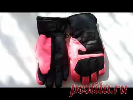 Детские горнолыжные перчатки Reusch Torben R-TEX XT Junior (Черно-розовые) 700грн