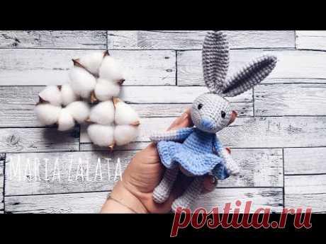 Мастер класс - Зайчик крючком / Пасхальный кролик крючком