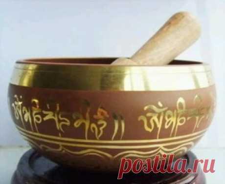 Редкие превосходные тибетский о . м . кольцо гонг поющая чаша 5 см * 8 см купить на AliExpress