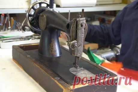 Как настроить старую швейную машинку — По секрету всему свету