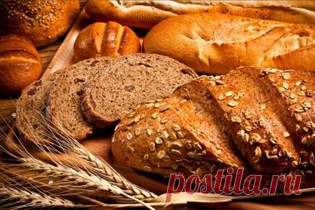 Бездрожжевой хлеб польза и вред.