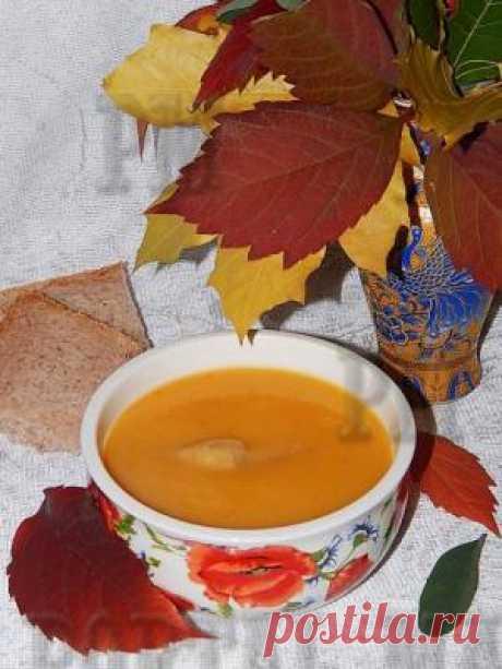 Суп-пюре морковно-картофельный (Суп-пюре моркв'яно-картопляний)Яркий осенний супчик. Питательный и легкий. Продукты для его приготовления найдутся практически на каждой кухне.