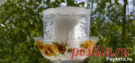 Как приготовить структурированную живую воду | Здоровые советы