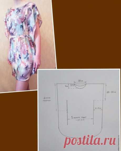 Моделирование платья-туники — Сделай сам, идеи для творчества - DIY Ideas