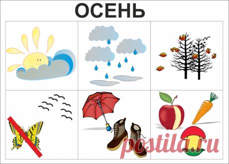 Картинки для детей про признаки осени (21 фото) ⭐ Забавник