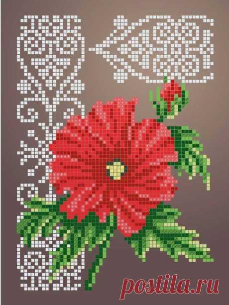 Схема для вышивки бисером Цветы «Зупа»™ «Гібискус» (A5) 15x18 (ЧВ-2339 (10)) Схемы вышивки бисером - это специальная ткань с рисунком для вышивания бисером. Схема для вышивания нанесена на ткань в виде цветных обозначений поверх изображения. В состав входят рисунок на ткани и инструкция по вышиванию. Бисер в состав не входит.