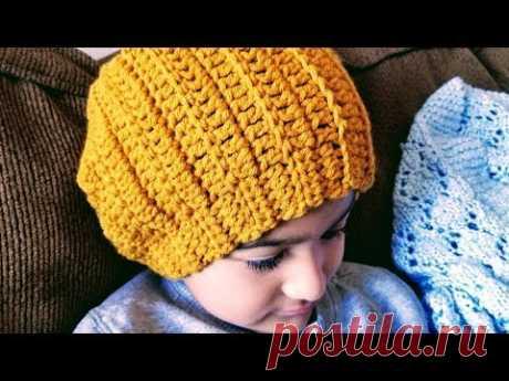 ud83d udc66 Gorro Para Niños a Crochet(ganchillo) 105155217bf