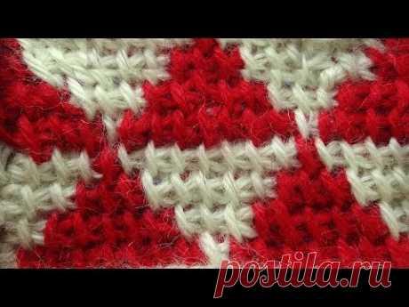 De Tunicia zhakkard sin protyazhek Tunisian crochet stitches 33