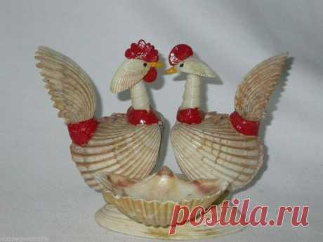 (6) Gallery.ru / Фото #1 - Поделки и украшения из ракушек - Vladikana