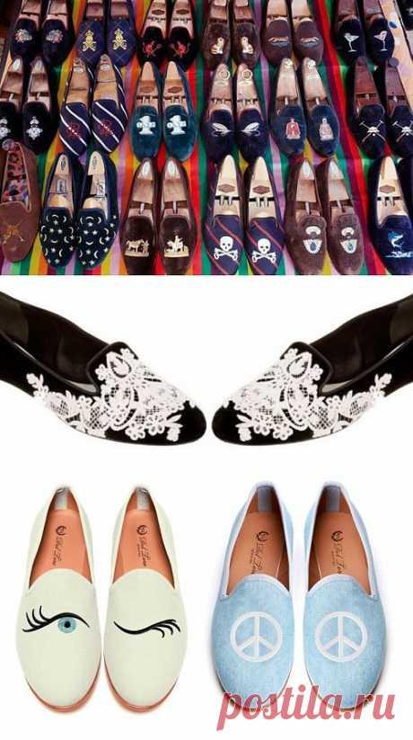 Слиперы (трафик, подборка) / История моды / Модный сайт о стильной переделке одежды и интерьера