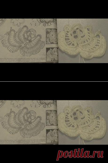 (19) 1 Часть. Разбираем схему Розы Татьяны Iskra в журнале Дуплет №119 Ирландские кружева - YouTube