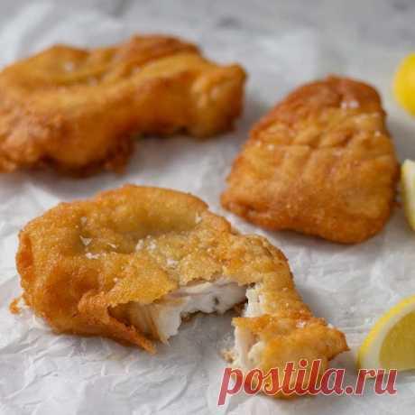 Кето рецепт белой рыбы в кляре (БЖУ подсчитаны)
