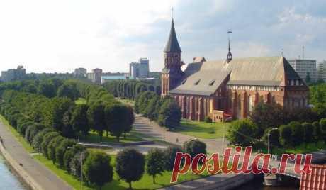 Los poderes tienen intención de pasar la prueba pericial técnica de la Catedral en la isla de Kant - Kaliningrado Típico