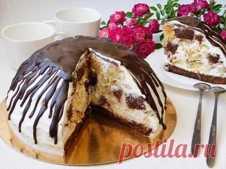 Классический торт Панчо с ананасами рецепт с фото пошагово и видео - 1000.menu