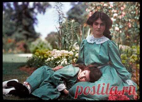 Две сестры. Фотографии, датированные 1908 годом | Краше Всех