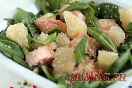 Китайский новогодний салат из лосося: побалуйте свои вкусовые рецепторы!!! — Вкусные рецепты