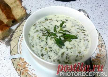 Довга бакинская - холодный суп - рецепт с фото пошагово Довга бакинская - холодный суп - пошаговый кулинарный рецепт приготовления с фото, шаг за шагом.