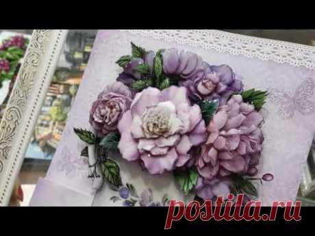 Объёмные картины папертоль: Прованс - 1, Прованс-2 - YouTube