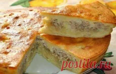Как приготовить рецепт заливного пирога с курицей - рецепт, ингредиенты и фотографии