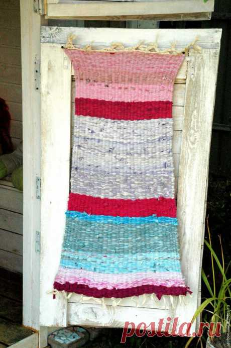 Плетем коврик в детскую по старинному методу - Ярмарка Мастеров - ручная работа, handmade