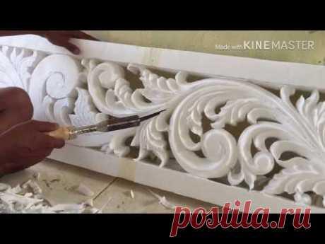 Tutorial cara mudah belajar mengukir styrofoam part 4 | dukung Prabowo - sandiaga uno