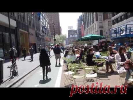 Нью-Йорк. Уличная мода. Просто прохожие.La moda en las calles de Nueva York. - YouTube