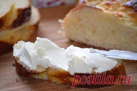 Простой рецепт домашнего сыра Филадельфия