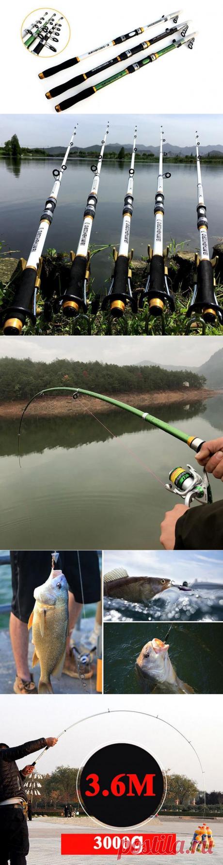 Прочная облегченная удочка из углеродного волокна для ловли карпа или щуки с Алиэкспресс   Super-Blog