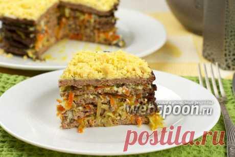 Печёночный торт из куриной печени рецепт с фото, приготовление торта из куриной печени пошаговый рецепт на Webspoon.ru