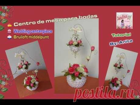 Centro de mesa para bodas/wedding centerpiece/Bruiloft middelpunt