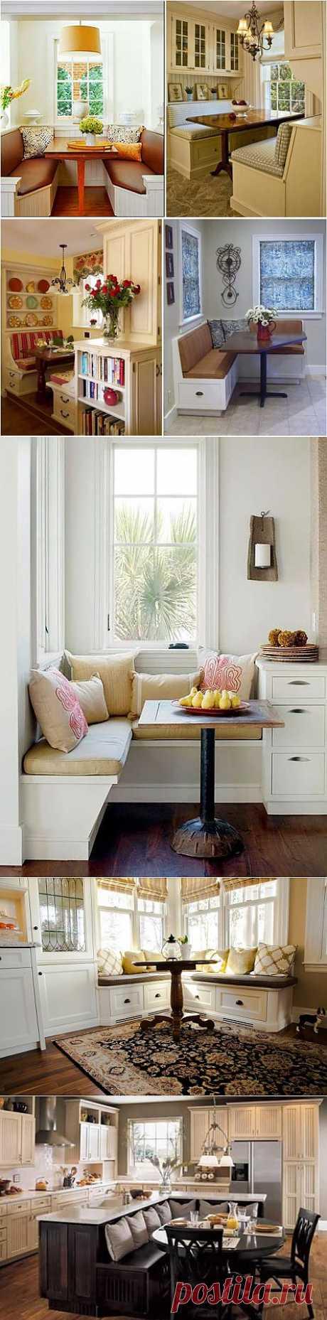 Обзор оригинальных моделей мягких уголков для кухни | Наш уютный дом