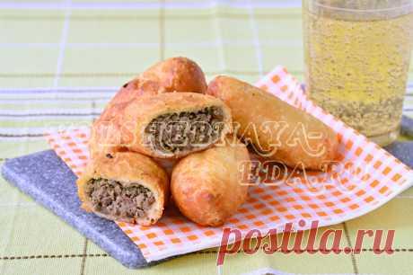 Жареные пирожки с ливером рецепт с фото | Волшебная Eда.ру