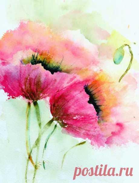 Aquarelle - Watercolor paintings | Painting