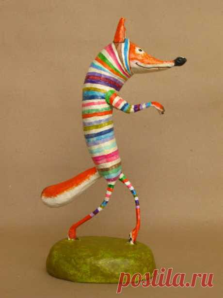 Звери папье-маше из Колумбии - Ручные звери. Животные своими руками. — LiveJournal