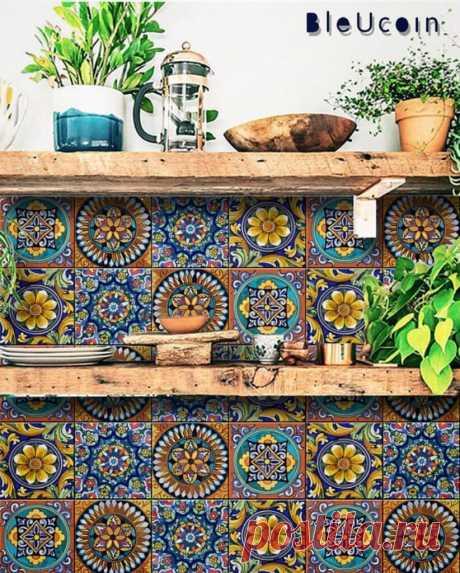 Необыкновенный метод декора плитки в ванной и на кухне, вполне преображающий вялый дизайн | Жильё Моё