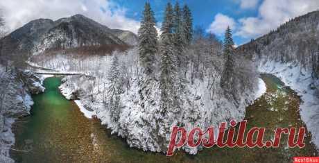 Фото: Панорама реки. Фотограф путешественник Фёдор Лашков. Пейзаж - Фотосайт Расфокус.ру
