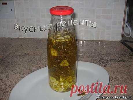 Ароматная заправка для салатов (пошаговый рецепт с фото).