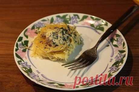 «Гнезда» — вкусно, быстро и очень просто