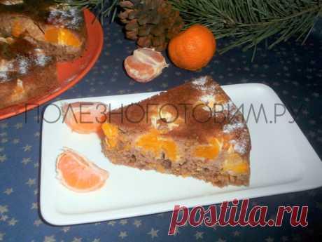 Новогодний пирог с мандаринами: ароматный, яркий, вкусный. Ммм… 😋 Замечательная выпечка но Новый Год: пирог с мандаринами обладает ярким вкусом и ароматом, прост по составу и приготовлению. Это приятная диетическая выпечка 👍