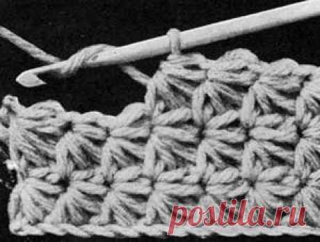"""Винтажное вязание """"звездочкой"""": ru_knitting"""