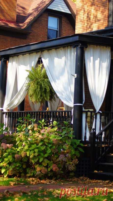 Советы по созданию уютного уголка на даче