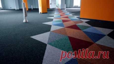 Что нужно знать о ковровой плитке | Роскошь и уют