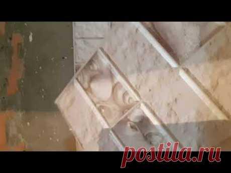 Клеим ПВХ панели в ванной. Как правильно клеить панели. Ремонт в туалете за 5000 руб