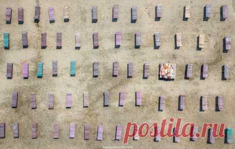 «Место под солнцем» Снято на городском пляже Челябинска. Фотограф – Василий Яковлев: nat-geo.ru/community/user/50163/