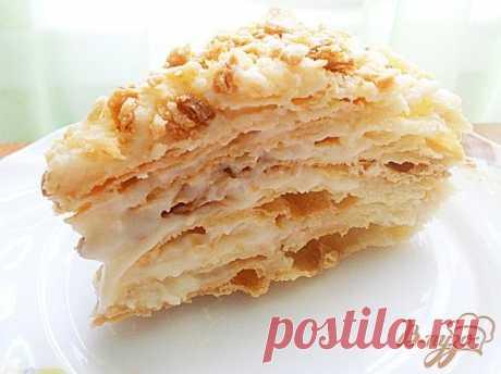 """Торт """"Наполеон"""" Потрясающий рецепт! Автор рецепта: тори (фото и текст автора)  Предлагаю вам рецепт очень простого, но потрясающего торта """"Наполеон"""" - это лучший рецепт, который я готовила!!!!! prostobastet"""
