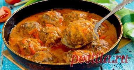 Ароматные тефтели в соусе — вкуснейшее блюдо родом из детства - Дачный участок - медиаплатформа МирТесен