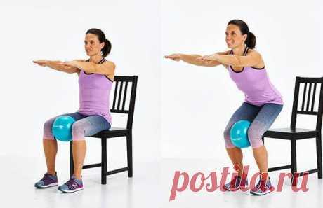 Лучшие упражнения для коленей / Будьте здоровы